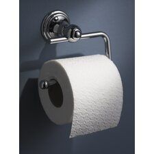 Allure Toilet Wall Mounted Roll Holder in Chrome