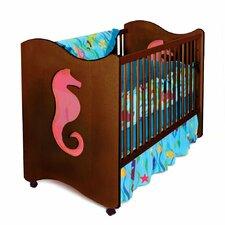 Tropical Seas 2-in-1 Convertible 2 Piece Crib Set