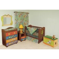 Little Lizards 2-in-1 Convertible 6 Piece Crib Set