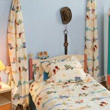 Cowboy Cotton Curtain Panels (Set of 2)