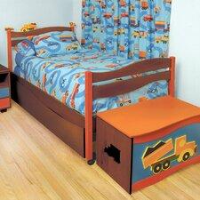 Boys Like Trucks Twin Panel Bed