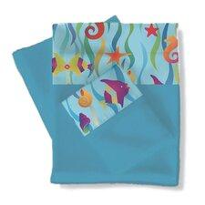 Tropical Seas Sheets / Pillowcase Set