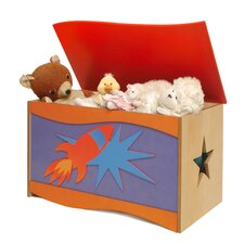 Star Rocket Toy Box