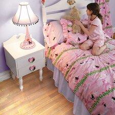 Poodles in Paris Twin Comforter Set