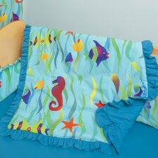 Tropical Seas 3 Piece Crib Bedding Set