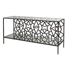 Cracked Ice Console Table