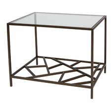 Cracked Ice End Table
