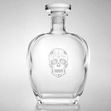 Sugar Skull Whiskey Decanter 23 Oz.