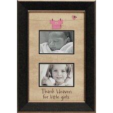 Thank Heaven for Little Girls Photo Frame