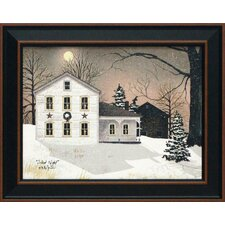 Silent Night by Billy Jacobs Framed Graphic Art