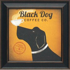 Black Dog Coffee Co. by Fowler, Ryan Framed Vintage Advertisement