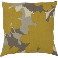 Captivating Cattail Cotton Throw Pillow