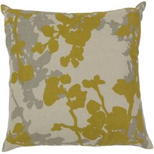 Jef Designs Floral Cotton Throw Pillow