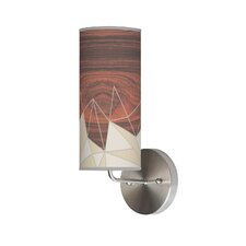 Organic Modern Facet Wall Sconce