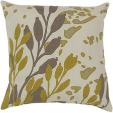 Charming Cattail Cotton Throw Pillow