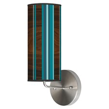 Organic Modern 1 Light Stripey Vertical Wall Sconce