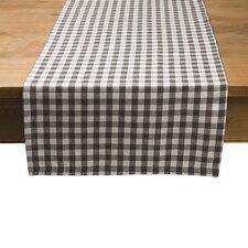 Tischläufer Karo aus 100% Baumwolle