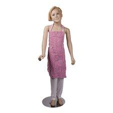 Schürze Bardot aus Baumwolle für Kinder