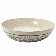 Raku Decorative Bowl
