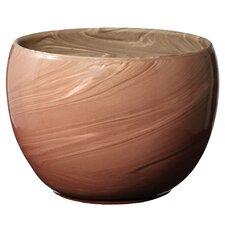 Swirled Clay Decorative Bowl
