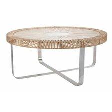Split Rattan Coffee Table