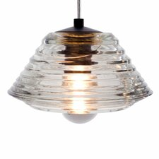 Glass Bowl 1 Light  Pendant