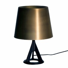 """Base 15.5"""" H Table Lamp with Empire Shade"""