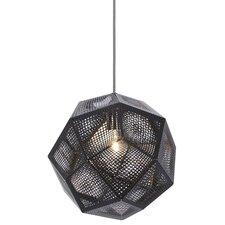 Etch 1 Light Globe Pendant