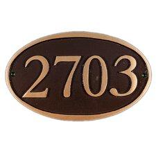 Ferris Address Plaque