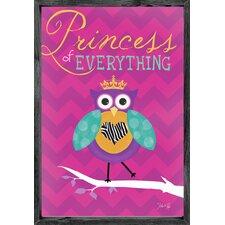Princess of Everything Framed Art