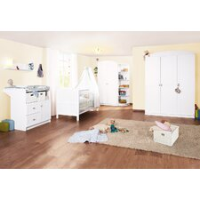 3-tlg. Babyzimmer-Set Laura