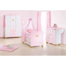 3-tlg. Babyzimmer-Set Princess Karolin