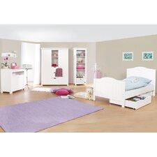 3-tlg. Schlafzimmer-Set Nina, 90 x 200 cm
