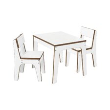 Juno Kids 3-Piece Table And Chairs Set