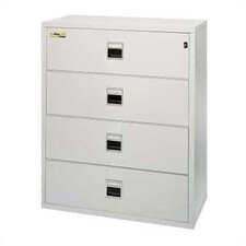 Fireproof 4-Drawer Lateral Signature File