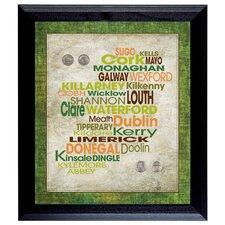 Luck Of The Irish Framed Memorabilia