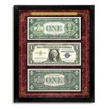 Motto No Motto Currency Framed Memorabilia