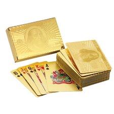 Ben Franklin 24 Kt Gold Foil Playing Cards