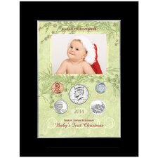 Baby's First Christmas Year to Remember Personalized Picture Frame