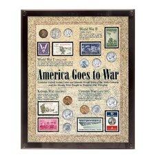 America Goes to War Framed Memorabilia