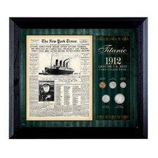 New York Times Titanic 1912 U.S. Mint Framed Memorabilia