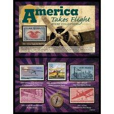 America Takes Flight Stamp Memorabilia