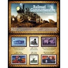 Railroad Commemorative Stamp Memorabilia
