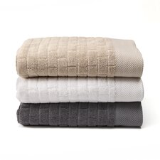 Subway Tile 3 Piece Towel Set