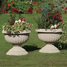 Imperial Round Urn Planter (Set of 2)