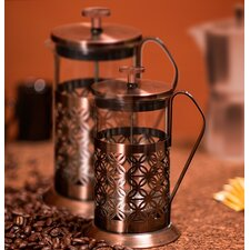 Flower French Press Coffee Maker