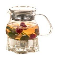 0.84-qt. Heat Tempered Glass Teapot