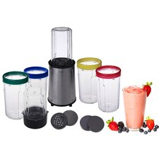 17 Piece All Purpose Stainless Steel Flash Blender