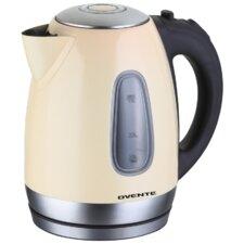 1.79 Qt. Cord-Free Brushed Electric Tea Kettle