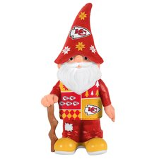 NFL Real Ugly Sweater Gnome Statue